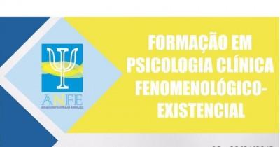 I Curso de Formação em Psicologia Clínica fenomenológico-Existencial