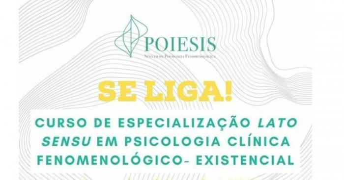 CURSO DE ESPECIALIZAÇÃO EM PSICOLOGIA CLÍNICA FENOMENOLÓGICO-EXISTENCIAL