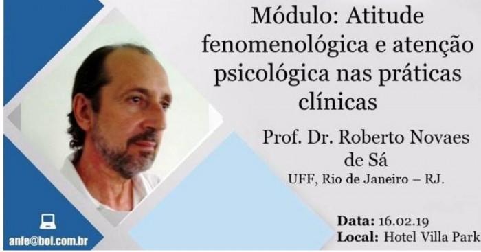 Módulo XII - Atitude Fenomenológica e Atenção Psicológica nas Práticas Clínicas