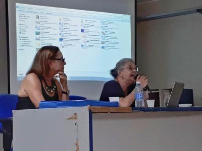 Elza Dutra e Henriette Morato