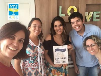 Supervisora Ana Andrea e seu grupo
