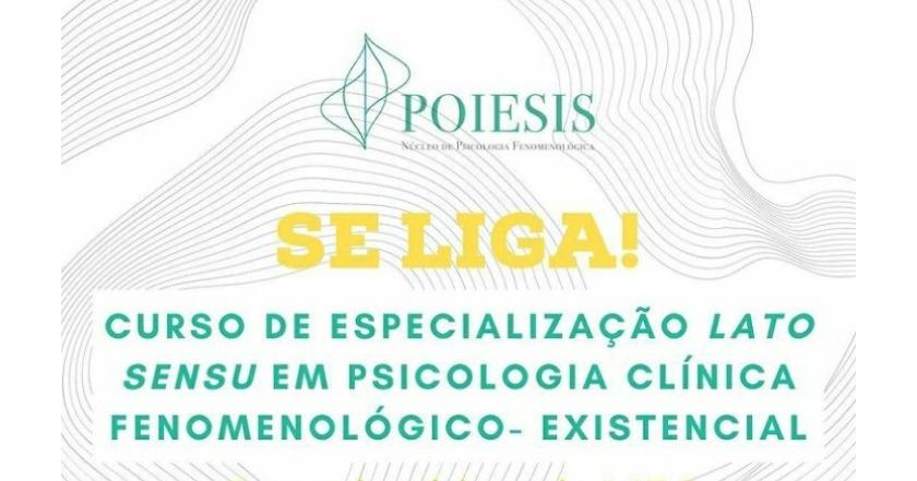 I Curso de Especialização em Psicologia Clínica Fenomenológico-Existencial (Lato Sensu)