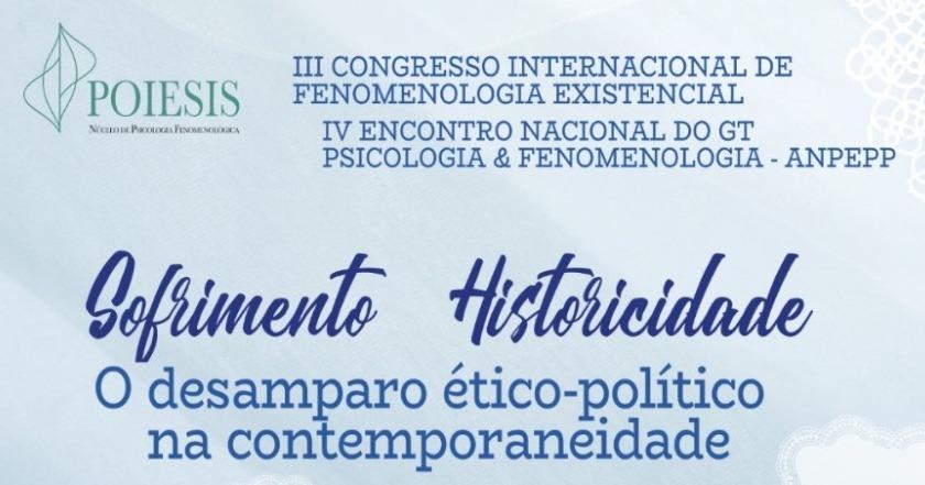 Conheça os convidados internacionais do III Congresso Internacional de Fenomenologia Existencial